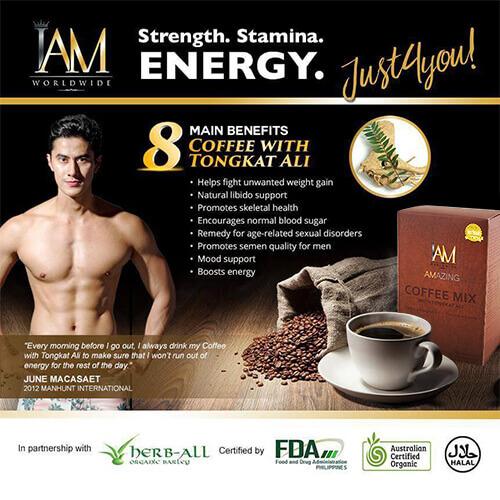Amazing Coffee Mix With Tongkat-ali