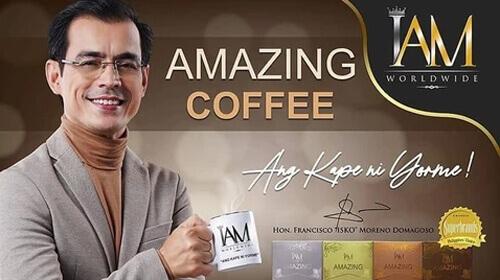 Amazing Coffee Mix with Tongkat Ali mayor isko3