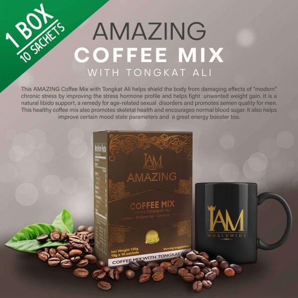 Amazing coffee mix with tongkat ali main
