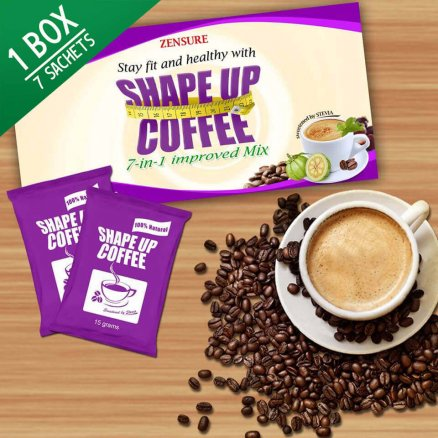 Shape up coffee creative main