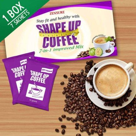 Shape up coffee creative main